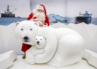 Ranua Zoo jääkarhu