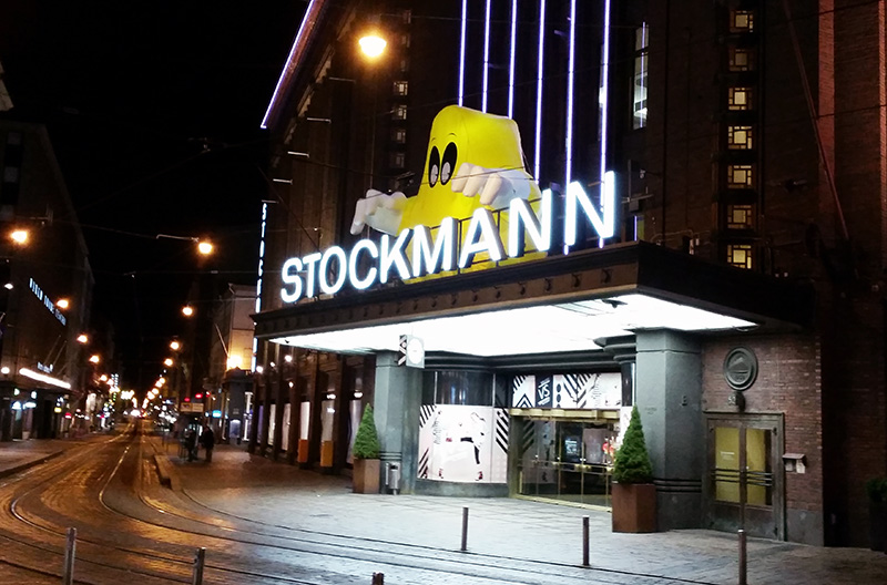 Orlen haamu Stockmannin Hulluilla päivillä