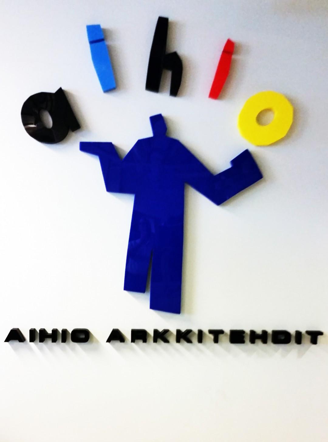 Aihio Arkkitehdit 3D-logo