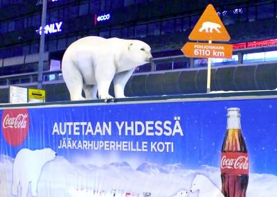 Coca Cola jääkarhu