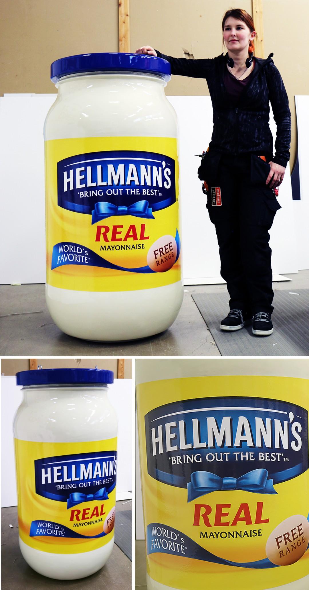 Hellmann's-majoneesipurkki